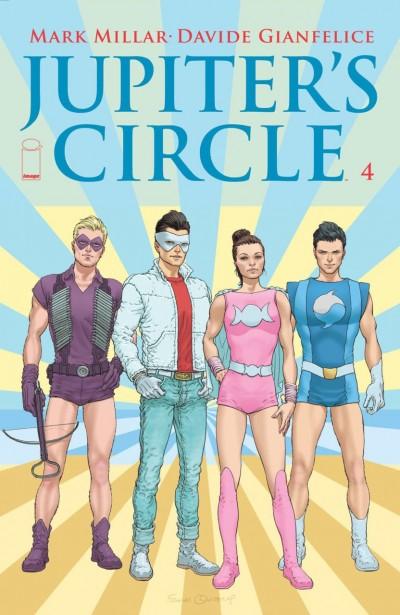 JUPITER'S CIRCLE (2015) #4 VF/NM MARK MILLAR IMAGE