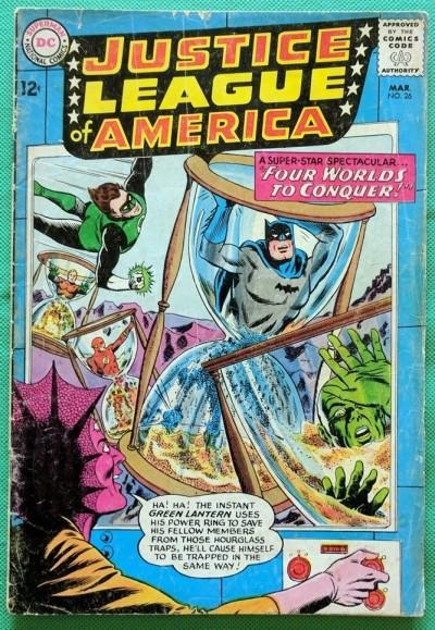 Justice League of America (1960) #26 GD- (1.8)