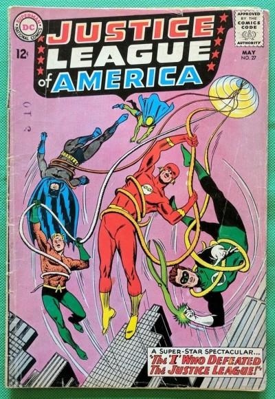 Justice League of America (1960) #27 GD- (1.8)