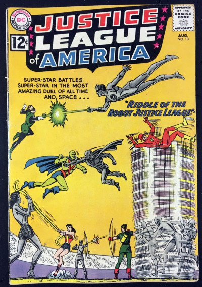 Justice League of America (1960) #13 VG- (3.5) Speedy app