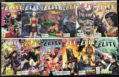 Justice League Elite (2004) #1-12 VF/NM (9.0) complete set