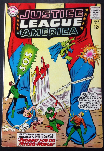 Justice League of America (1960) #18 FN (6.0)