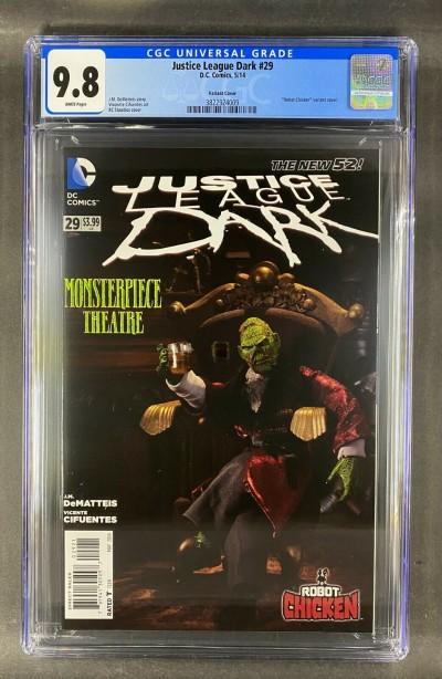 Justice League Dark (2011) #29 CGC ONLY COPY 9.8 Robot Chicken (3822924009)