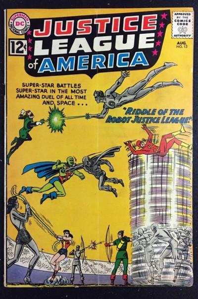 Justice League of America (1960) #13 VG+ (4.5) Speedy app
