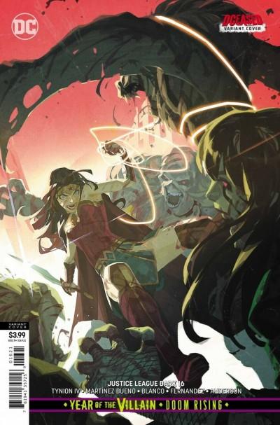 Justice League Dark (2018) #16 VF/NM DCeased Variant Cover