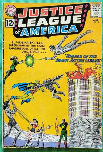Justice League of America (1960) #13 VG (4.0)
