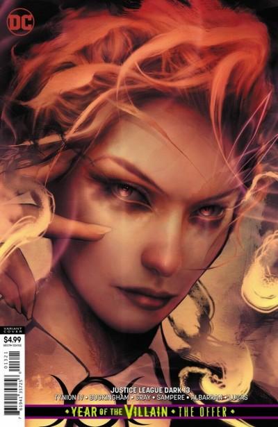 Justice League Dark (2018) #13 VF/NM Dan Quintana Variant Cover