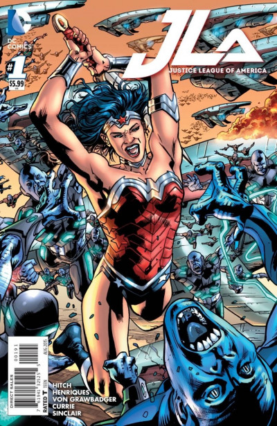 JUSTICE LEAGUE OF AMERICA (2015) #1 VF/NM WONDER WOMAN COVER