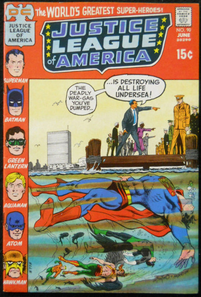 JUSTICE LEAGUE OF AMERICA #90 VF
