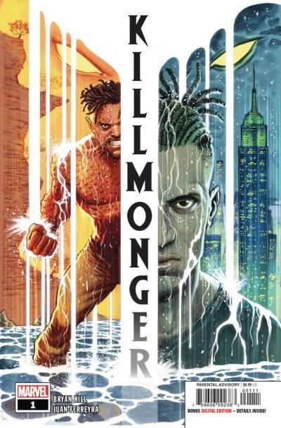 Killmonger (2018) #1 VF/NM Juan Ferreyra Cover Black Panther