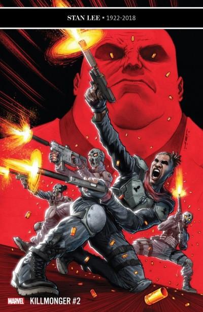 Killmonger (2018) #2 VF/NM Juan Ferreyra Cover Black Panther
