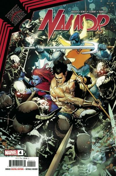 King In Black: Namor (2021) #4 of 5 VF/NM Leinil Francis Regular Cover