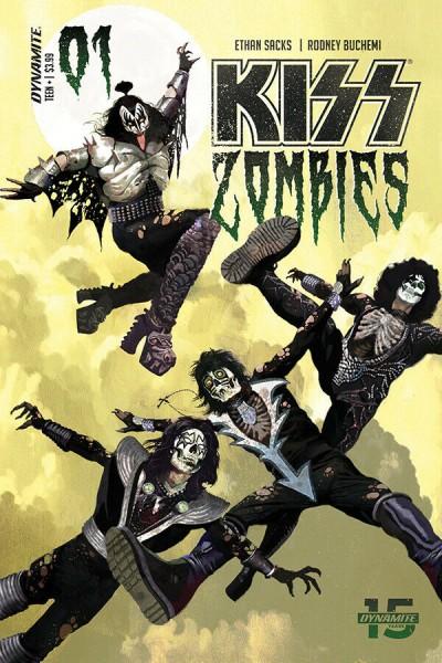 KISS: Zombies (2019) #1 VF/NM Arthur Suydam Cover A Dynamite