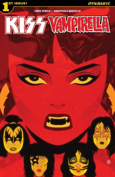 Kiss/Vampirella (2017) #1 VF/NM Cover A Dynamite