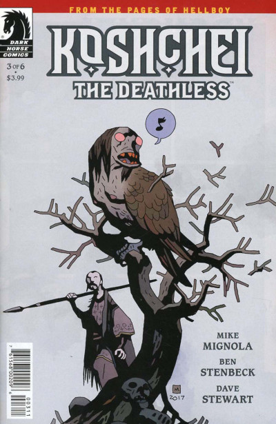 Koshchei the Deathless (2018) #3 of 6 VF/NM Mike Mignola Hellboy