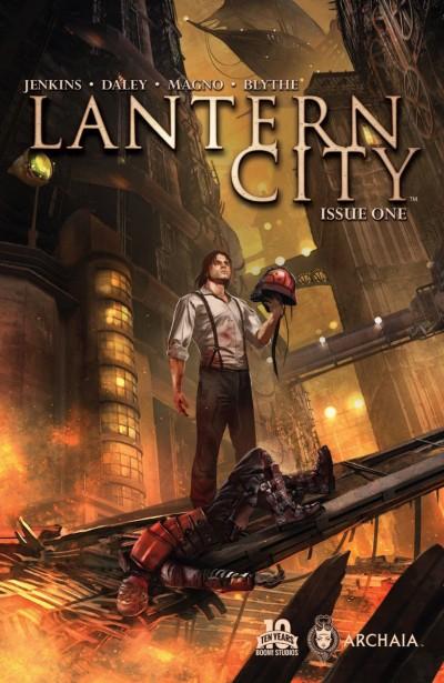 LANTERN CITY (2015) #1 VF/NM 1ST PRINTING BOOM! ARCHAIA