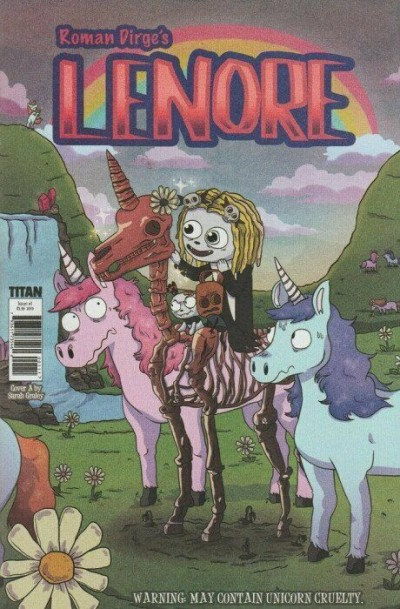 Lenore (2019) #1 VF/NM-NM Sarah Gailey Cover Titan Comics