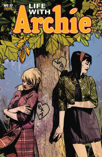 LIFE WITH ARCHIE (2010) #37 VF/NM TOMMY EDWARDS VARIANT COVER DEATH OF ARCHIE
