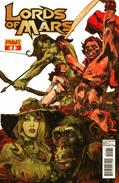 Lord of Mars (2013) #1 VF+ Panosian Cover Dynamite