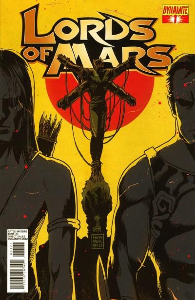 Lord of Mars (2013) #1 VF+ Francavilla Cover Dynamite