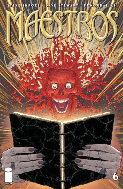 Maestros (2017) #6 VF/NM Image Comics