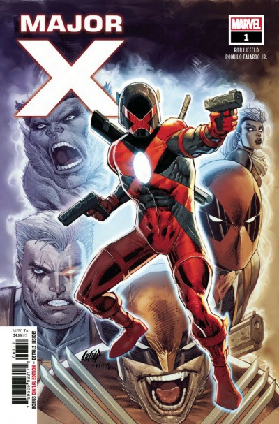 Major X (2019) #'s 0 1 2 3 4 5 6 Complete VF/NM-NM 1st Printing Set Rob Liefeld