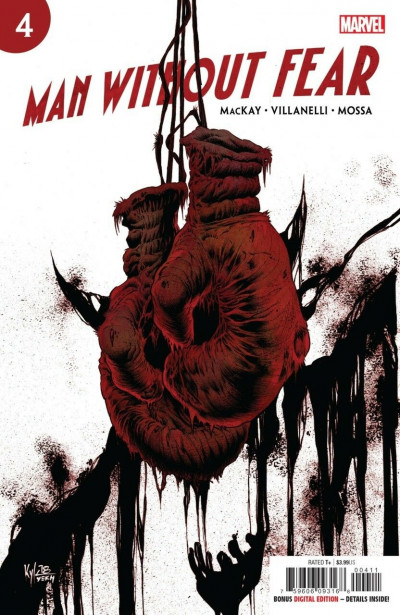 Man Without Fear (2018) #4 VF/NM-NM Kyle Hotz Cover