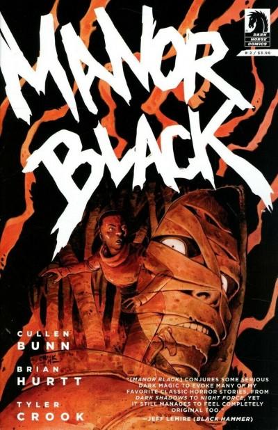 Manor Black (2019) #2 VF/NM Tyler Crook Cover Dark Horse Comics