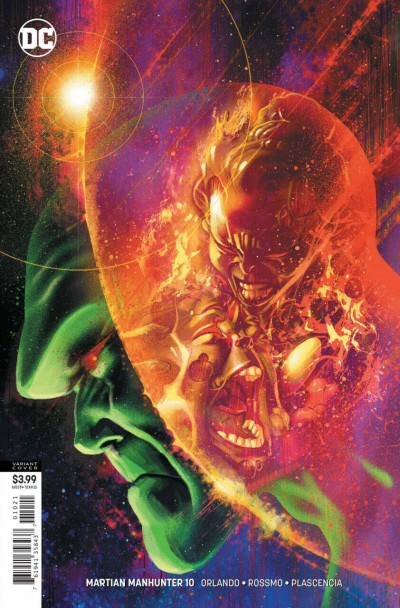 Martian Manhunter (2018) #10 VF/NM Steve Orlando Joshua Middleton Variant Cover