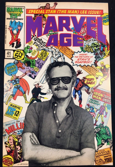 Marvel Age (1983) #41 VF+ (8.5) Stan Lee tribute issue