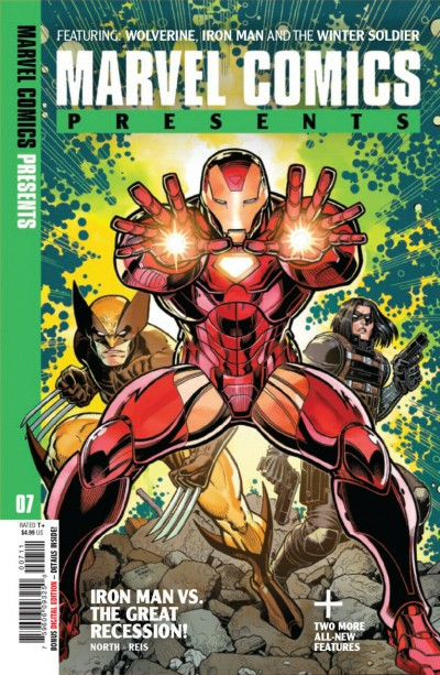 Marvel Comics Presents (2019) #7 VF/NM Arthur Adams Cover