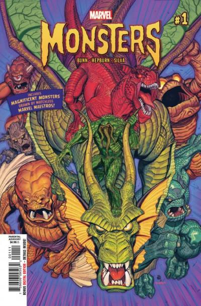 Marvel Monsters (2019) #1 VF/NM-NM Nick Bradshaw Cover