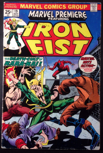 Marvel Premiere (1972) #19 VG (4.0) featuring Iron Fist 1st app Colleen Wing
