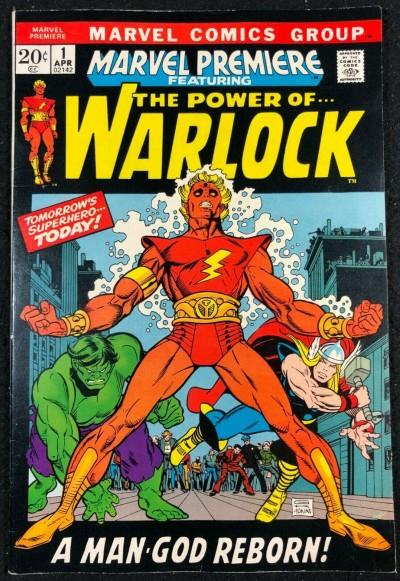Marvel Premiere (1972) #1 VF+ (8.5) 1st app Adam Warlock 1st app Soul Gem