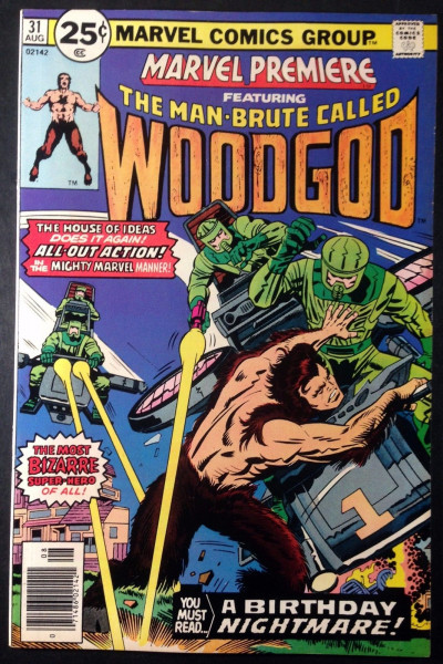 Marvel Premiere (1972) #31 VF/NM (9.0)  Woodgod