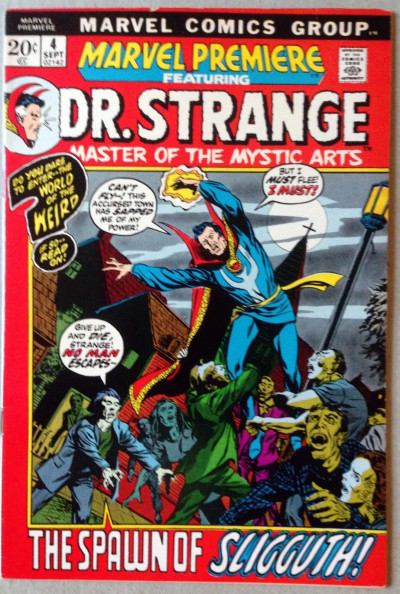 Marvel Premiere (1972) #4 FN+ (6.5) featuring Doctor Strange Barry Smith art