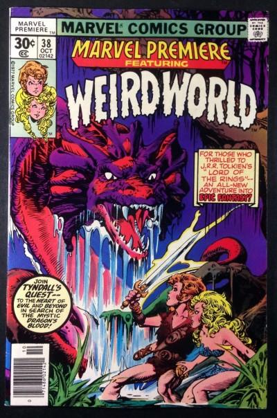 Marvel Premiere (1972) #38 VF- (7.5) featuring 1st Weird World Mike Ploog art