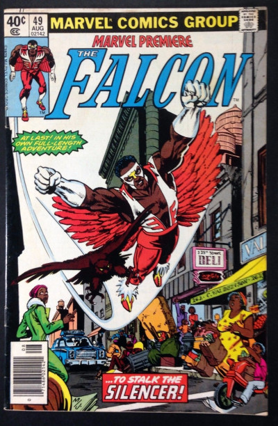 Marvel Premiere (1972) 49 FN- (5.5) featuring Falcon Frank Miller cover