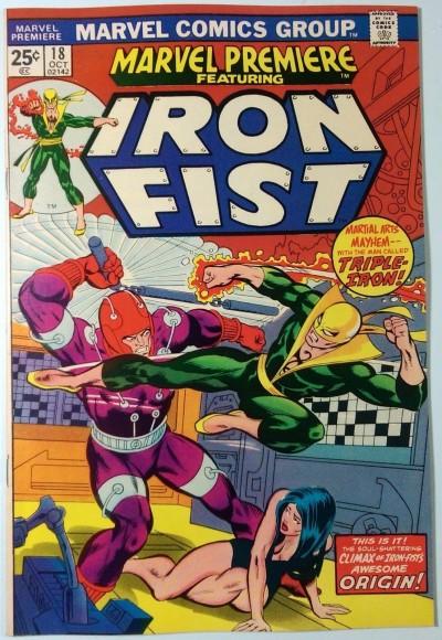 Marvel Premiere (1972) #18 VF+ (8.5)  Iron Fist
