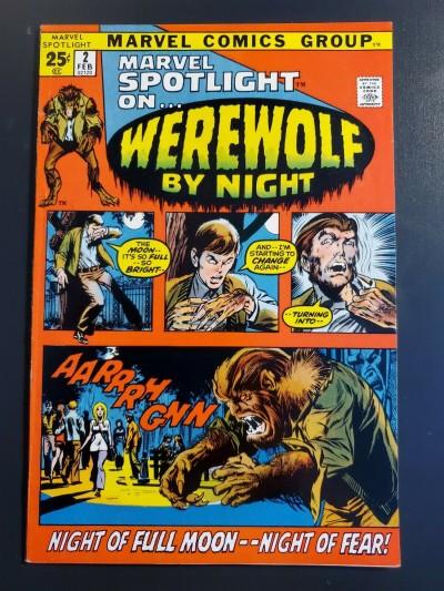 MARVEL SPOTLIGHT #2 (1972) VF- (7.5) 1st appearance Werewolf by Night  
