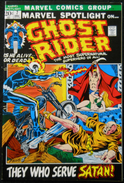 MARVEL SPOTLIGHT #7 VF- 3RD APPEARANCE GHOST RIDER MIKE PLOOG