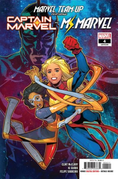 Marvel Team-Up (2019) #4 VF/NM Anna Rud Cover Captain Marvel Kamala Khan