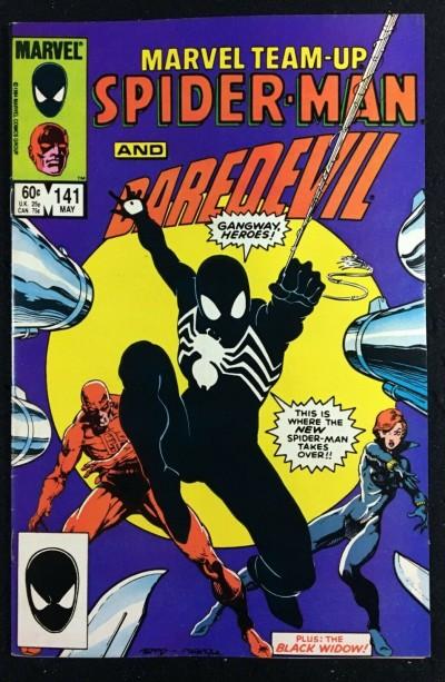Marvel Team-Up (1972) #141 VF (8.0) Spider-Man tied for 1st Black Costume