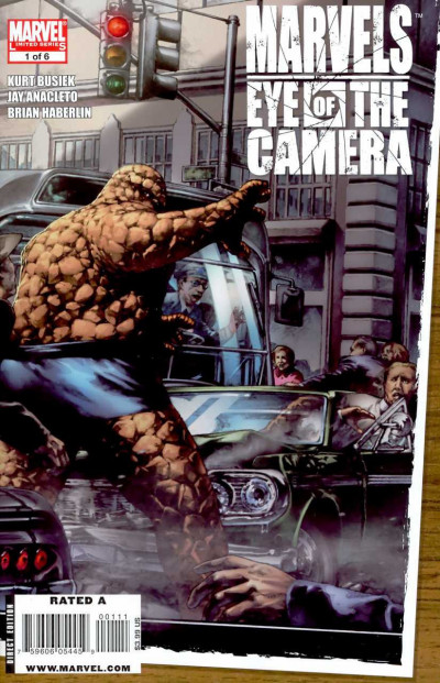 MARVELS EYE OF THE CAMERA #1  VF/NM