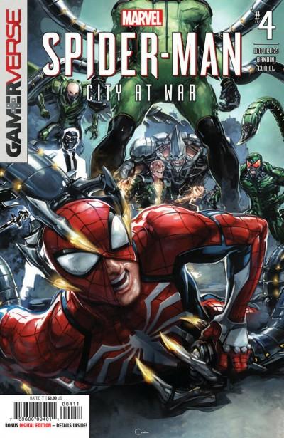 Marvel's Spider-Man: City At War (2019) #4 VF/NM Clayton Crain Cover