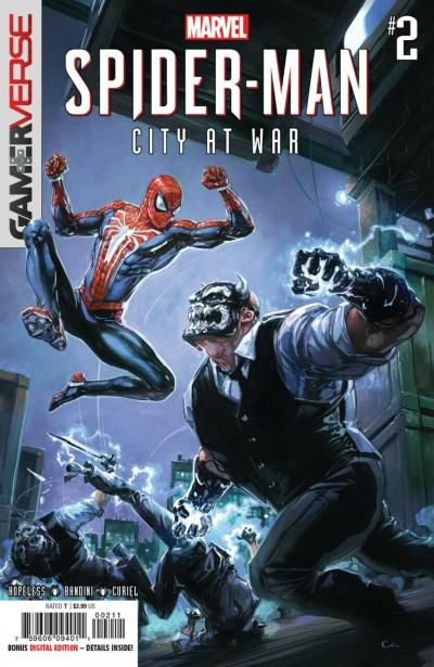 Marvel's Spider-Man: City At War (2019) #2 VF/NM Clayton Crain Cover