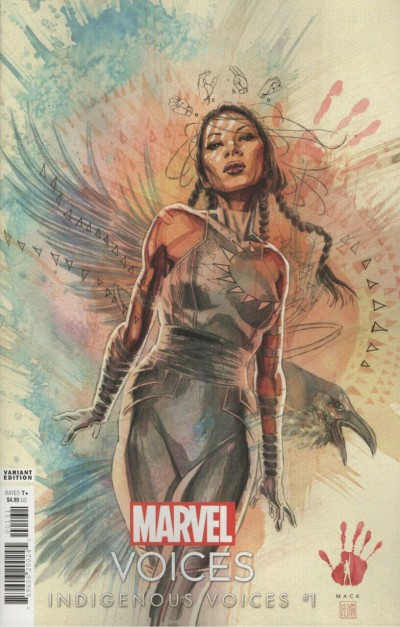 Marvel's Voices: Indigenous Voices (2020) #1 VF/NM David Mack Variant Cover Echo