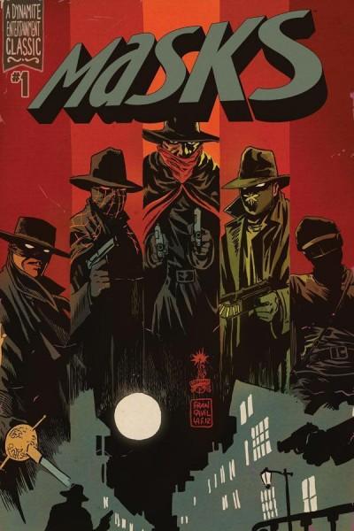 MASKS (2012) #1 NM FRANCAVILLA COVER