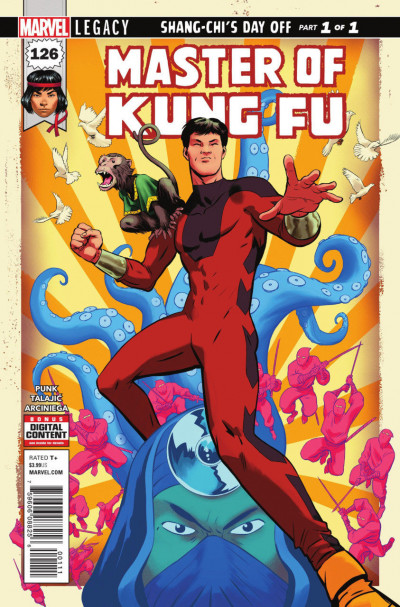Master of Kung Fu (2011) #126 VF/NM