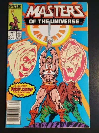 Masters of the Universe #1 (1986) Star Comics newsstand UPC variant VF+ 8.5 
